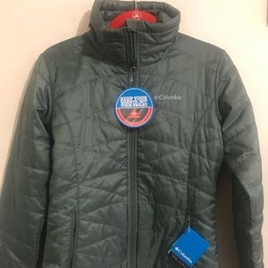 New Columbia Omni Heat Full ZIP Jacket Sm
